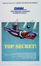 Top Secret - Italian Theatrical poster (xs thumbnail)