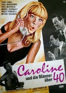 Moi et les hommes de 40 ans - German Movie Poster (xs thumbnail)