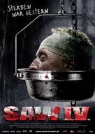Saw IV - German Movie Poster (xs thumbnail)