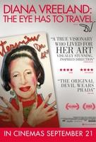 Diana Vreeland: The Eye Has to Travel - British Movie Poster (xs thumbnail)