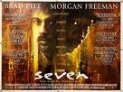 Se7en - British Movie Poster (xs thumbnail)