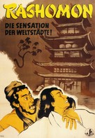 Rashômon - German Movie Poster (xs thumbnail)