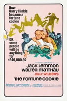 The Fortune Cookie - Theatrical movie poster (xs thumbnail)