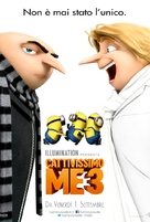 Despicable Me 3 - Italian Movie Poster (xs thumbnail)