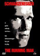 The Running Man - DVD movie cover (xs thumbnail)