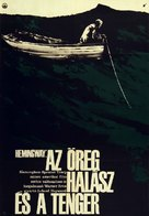 The Old Man and the Sea - Hungarian Movie Poster (xs thumbnail)