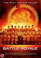 Battle Royale - Danish DVD movie cover (xs thumbnail)
