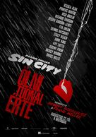 Sin City: A Dame to Kill For - Hungarian Movie Poster (xs thumbnail)