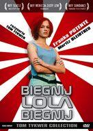 Lola Rennt - Polish DVD cover (xs thumbnail)
