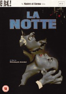 La notte - British DVD cover (xs thumbnail)