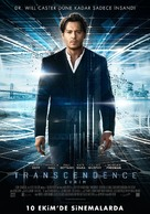Transcendence - Turkish Movie Poster (xs thumbnail)