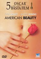 American Beauty - Swedish DVD movie cover (xs thumbnail)