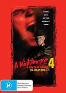A Nightmare on Elm Street 4: The Dream Master - Australian DVD movie cover (xs thumbnail)