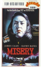 Misery - German Movie Cover (xs thumbnail)
