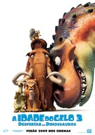 Ice Age: Dawn of the Dinosaurs - Portuguese Movie Poster (xs thumbnail)