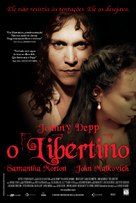 The Libertine - Brazilian Movie Poster (xs thumbnail)