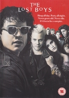 The Lost Boys - British DVD cover (xs thumbnail)