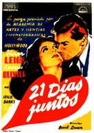 21 Days - Spanish Movie Poster (xs thumbnail)