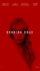 Red Sparrow - Spanish Movie Poster (xs thumbnail)
