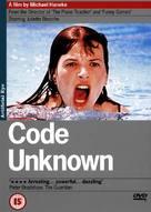 Code inconnu: Récit incomplet de divers voyages - British DVD cover (xs thumbnail)