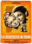 La Chartreuse de Parme - French Movie Poster (xs thumbnail)