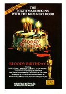 Bloody Birthday - VHS cover (xs thumbnail)
