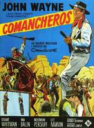 The Comancheros - Danish Movie Poster (xs thumbnail)