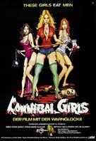Cannibal Girls - German Movie Poster (xs thumbnail)