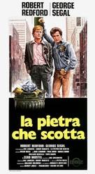 The Hot Rock - Italian Movie Poster (xs thumbnail)