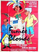 Fumée blonde - French Movie Poster (xs thumbnail)