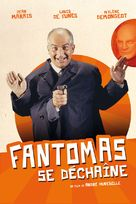 Fantômas se dèchaîne - French Movie Cover (xs thumbnail)