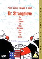 Dr. Strangelove - British DVD movie cover (xs thumbnail)