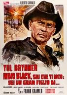 Indio Black, sai che ti dico: Sei un gran figlio di... - Italian Movie Poster (xs thumbnail)