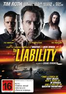 The Liability - New Zealand DVD cover (xs thumbnail)