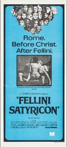 Fellini - Satyricon - Australian Movie Poster (xs thumbnail)