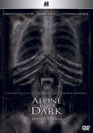 Alone in the Dark - Polish DVD movie cover (xs thumbnail)