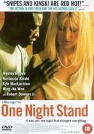 One Night Stand - British DVD cover (xs thumbnail)