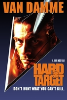 Hard Target - VHS movie cover (xs thumbnail)