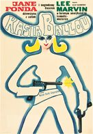 Cat Ballou - Polish Movie Poster (xs thumbnail)