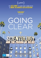 Going Clear: Scientology and the Prison of Belief - Australian Movie Poster (xs thumbnail)