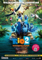 Rio 2 - German Movie Poster (xs thumbnail)