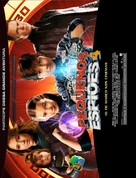 Spy Kids: All the Time in the World in 4D - Brazilian Movie Poster (xs thumbnail)