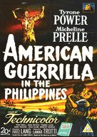 American Guerrilla in the Philippines - British DVD movie cover (xs thumbnail)