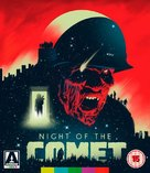 Night of the Comet - British Blu-Ray cover (xs thumbnail)