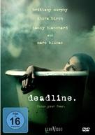 Deadline - German Movie Cover (xs thumbnail)