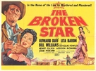 The Broken Star - British Movie Poster (xs thumbnail)