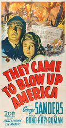 They Came to Blow Up America - Movie Poster (xs thumbnail)