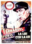La legge è legge - Belgian Movie Poster (xs thumbnail)