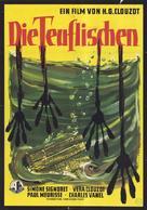 Les diaboliques - German Movie Poster (xs thumbnail)