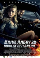 Drive Angry - Romanian Movie Poster (xs thumbnail)
